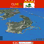 The world according to CLIVE (CoastaL Impact Visualization Environment)